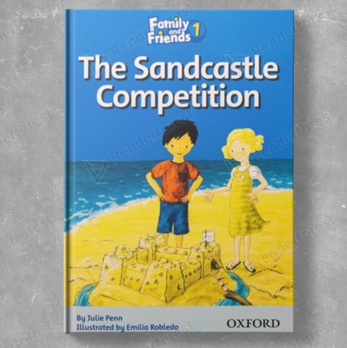 Family Readers 1: The Sandcastle Competition