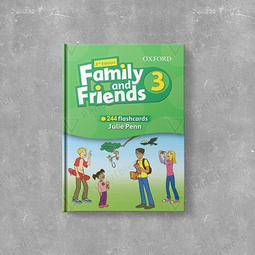 Family and Friends 3 2nd Flashcards